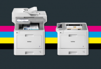 Новите цветни лазерни модели на Brother предлагат много възможности и ефективност за бизнеса