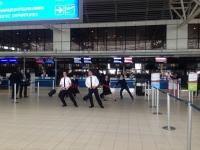 Флашамоб изненада пътниците на Air France
