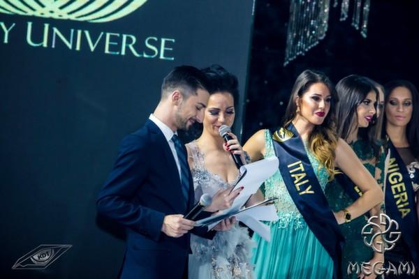 Теодор Тодоров - Тео и Боряна Баташова като водещи на конкурса за красота Lady Universe: