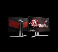 gamescom 2017: AOC показва супербързия геймърски монитор AGON G-SYNC 240 Hz