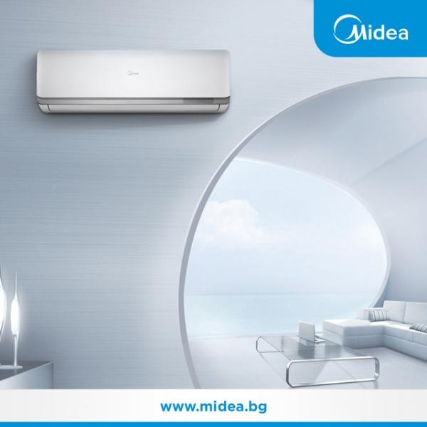 Представяме Ви стенните инверторни климатици Midea Oasis.
