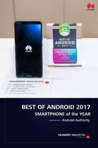 Huawei Mate 10 Pro и WiFi Q2 Series с 5 медийни награди на CES 2018