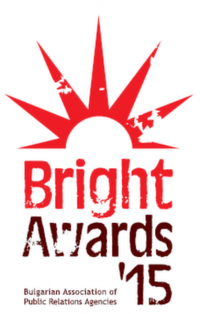 Носителите на отличието BAPRA Bright Awards 2015 ще бъдат обявени на официална церемония на 29 април 2015 г. в Рейнбоу плаза.