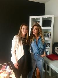 Енджи Касабие се срещна с българо-сирийската авторка Даян Шаер
