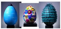 Продават благотворително уникални яйца на онлайн търг в мола