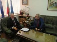 Председателят на Българската газова асоциация разговаря с Цветан Симеонов по повод на предложенията, внесени в КЕВР