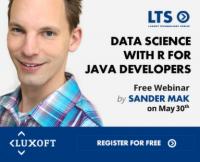 Data Science с R за Java-разработчици в седмия технологичен уебинар на Luxoft
