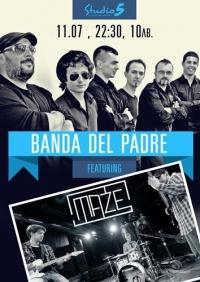 Banda Del Padre feat. Maze LIVE @ Studio 5