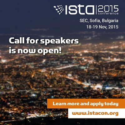 ISTA call for speakers